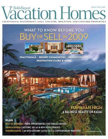 Robb Report - Vacation Homes